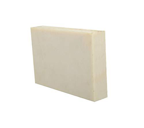 SOFIALXC Kunststoff Platten Nylonplatte Beige Hohe Zähigkeit-100x150x25mm