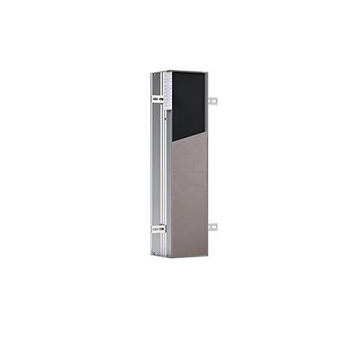 emco ASIS PLUS Unterputz-Schrankmodul für die Klobürstengarnitur, Badezimmerschrank mit Toilettenpapierhalter, Hochschrank mit