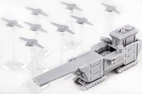 DZC21017 UCM  Ferrum Class Drone Base (1 base + 8 drones) by Hawk Wargames