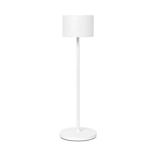 Blomus - Mobile LED-Leuchte - Lampe - 3.0 Satellite - Aluminium - Indoor/Outdoor - weiß - 35,5x11 cm