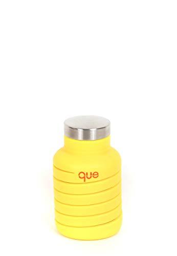 que Collapsible Bottle 20 oz Citrus Yellow