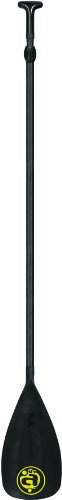 Airhead SUP Paddle, Carbon Comp, 3 Sect, Black, one size fits all, AHSUP-P4