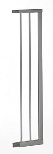 Geuther Kit de Rallonge Barrière Sécurité Easylock Wood Argent 16 cm Geuther