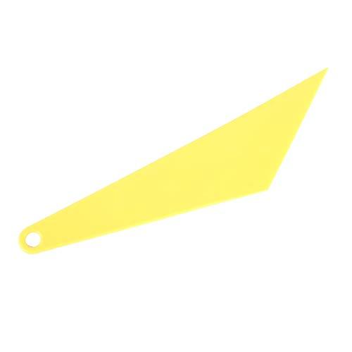 EUYBDZSW Herramientas de Mantenimiento de automóviles Herramienta Tinte escobilla de Goma identificador de Ventana de la película for el Coche Ministerio del Interior (Color : Yellow)