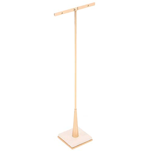 Earring Stand Jewelry T Bar Rose Gold Metal Earring Dispaly for Show Jewelry Photography Display Props Organizer (XL)