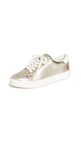Sam Edelman Women's Ethyl Sneaker, Molten Gold, 11 Medium US
