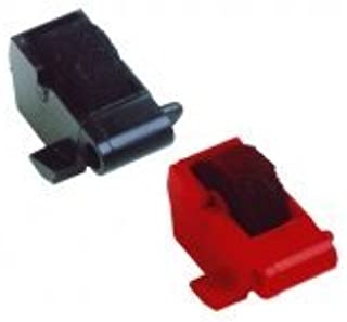 (Package of Two) Sharp EL1192BL/EL1192G/EL1801C/EL2192C/EL2192G/EL2192G II/EL2192P/EL2192R Calculator Ink Roller, One Black and One Red (Black and Red)