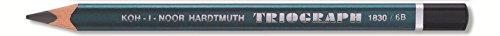 KOH-I-NOOR 6B Jumbo lápiz de grafito Triangular (6 unidades)