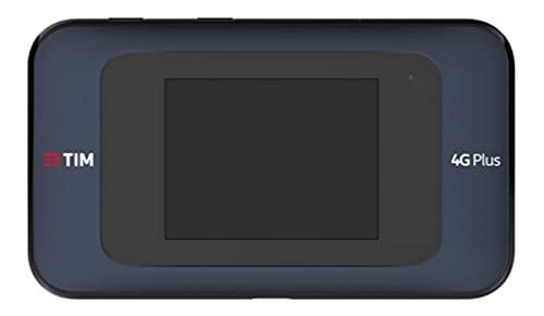 TIM 779750, Modem-router Tim Modem Router Wi-fi 4g Plus New Cat 7 (450 100 Mbps) Max 20 Utenti, Nero