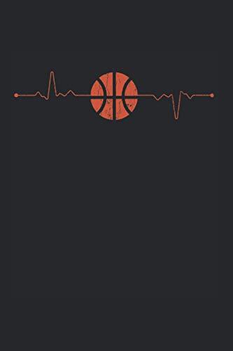 Vintage RetroBasketball-Spieler Herzschlag Geschenk Kalender 2021: Basketball Kalender 2021 Geschenk Lustig / Basketball Taschenkalender 2021 / ... November 20 bis Dezember 21 1 Woche pro Seite