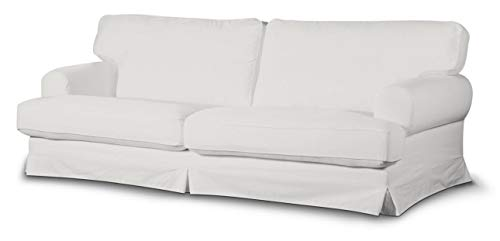Dekoria Ekeskog Sofabezug Nicht ausklappbar Husse passend für IKEA Modell Ekesgog naturweiß
