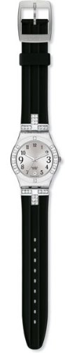 Swatch YLS430C - Reloj de pulsera, caucho, color negro