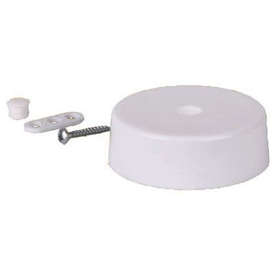 Kunststoff-Abzeig-Baldachin | Lampen Abzweigdose | Verteilerdose | Decken Abdeckung rund Ø70