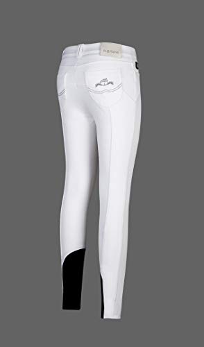Equiline Damen Reithose NINA Größe 36, Farbe weiß