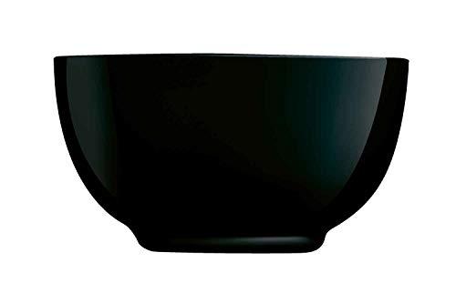 Luminarc P0863 - Cuenco (75 cl-Diwali), color negro