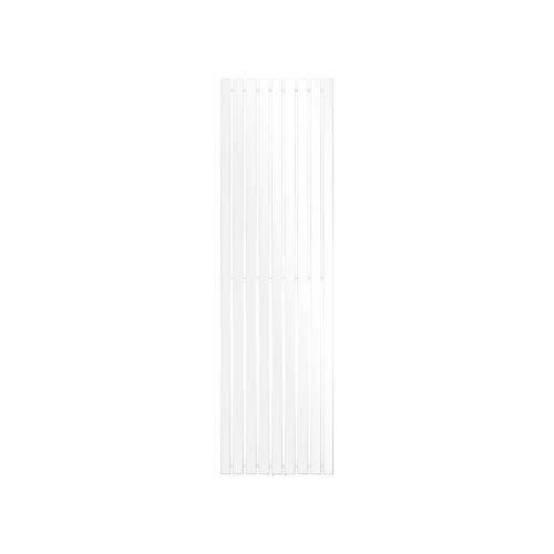 ECD Germany Stella Design Radiador de panel - 480 x 1600 mm - Blanco - Radiador Diseño Vertical Decorativo Moderno - Toallero agua calefaccion