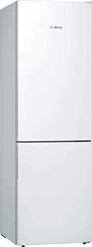 Bosch KGE362W4A Serie 4 Freistehende Kühl-Gefrier-Kombination/A+++ / 186 cm / 161 kWh/Jahr/weiß / 214 L Kühlteil / 88 L Gefrierteil/LowFrost/VitaFresh
