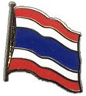 Digni Grand drapeau Tha/ïlande sur hampe 60 x 90 cm sticker gratuit