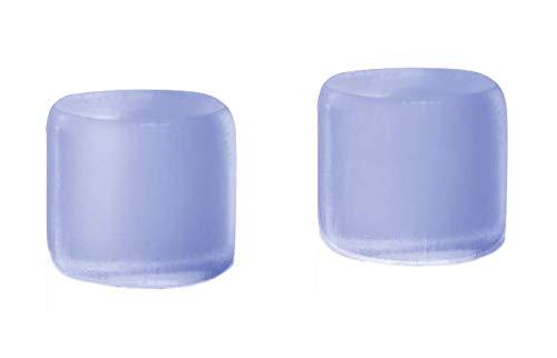 Ohropax Ohrstöpseln Silicon Aqua, 2er Pack (2 x 6 Stück) - 2