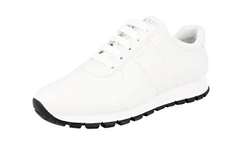 Prada Damen Weiss Leder Sneaker 1E546L 41 EU