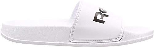 Reebok DV5194, Pantuflas Unisex Adulto, Blanco White/Black
