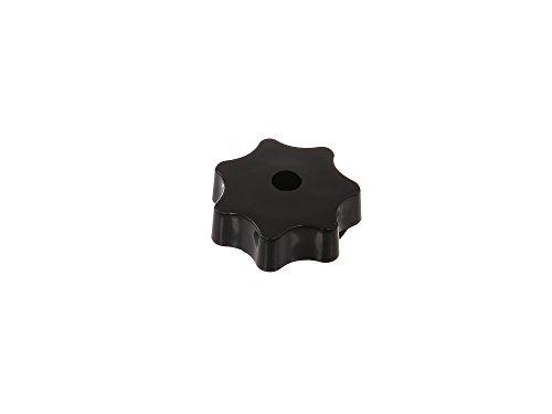 FEZ Sterngriffmutter M6 in schwarz für (Motorabdeckung & Haube) Simson Schwalbe KR51, Star, Sperber, Habicht SR4, SR50, SR80