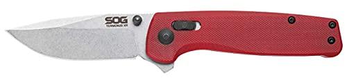 SOG Terminus XR G10 Folding Pocket Knife- Ambidextrous EDC Knife with Adjustable Belt Clip, G10...