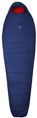 FJÄLLRÄVEN Abisko Two Seasons Reg Sac de Couchage Unisex-Adult, Bleu (Atlantic Bleu), 180 Centimeters
