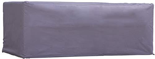 Housse de Protection Table Rectangulaire | 185 x 105 x 75 cm (L x L x H) | Gris | Résistant à L'eau | pour Jardin, Terrasse, Meubles | Qualité | Couverture | Anti-UV | Mobilier | Bâche