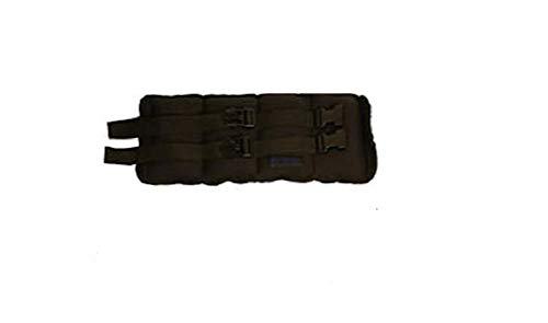 Kiefer Ankle/Wrist Weights, 1-Pair 5.0 Pounds Each, Black (811400-10)