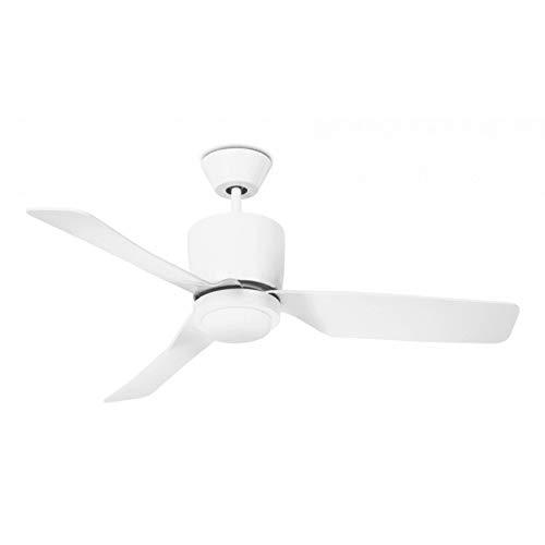 Lampara ventilador 111cm con luz modelo VERA blanco