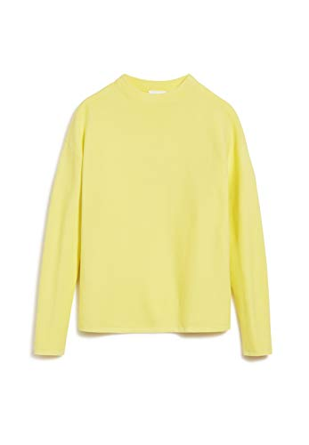 ARMEDANGELS MEDINAA - Damen Pullover aus Bio-Baumwolle XL Lime Strick Pullover Regular fit