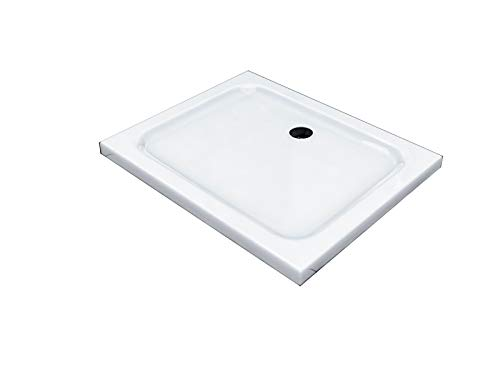 90x75x5cm Piatto doccia, vasca da bagno in acrilico per il bagno, 5cm super-piatte
