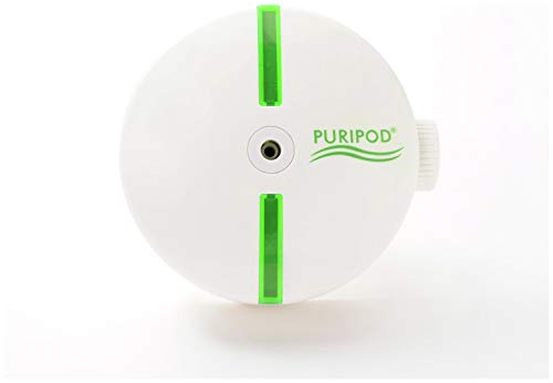 BEST DIRECT Puripod As Seen on TV Silent Air Purifier Cleaner Filter for Clean and Fresh Air for Home Against Pollen Dust Allergies Smoke and More