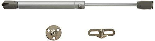 Hettich 100N Hidraulico Amortiguador 0062316 Resorte de Compresión para Puertas Armario Muelle Piston de Gas para Muebles de Cocina Elevación Neumática Potencia, Niquel, 0