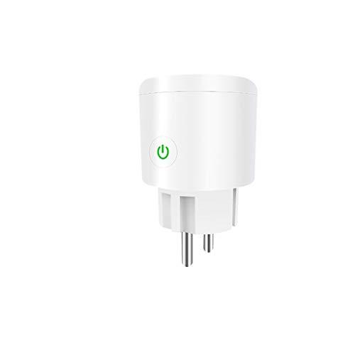 Xbeast WLAN Smart Steckdose Plug WiFi Stecker Fernbedienbar und Sprachsteuerung Intelligent Timing Compatible with Amazon Alexa Echo and Google Home (1 pc)