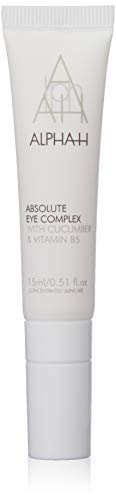 Alpha-H absoluta ojo complejo con pepino y vitamina B5, 15 ml