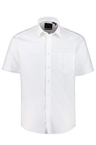 JP 1880 Homme Grandes Tailles Chemise Manches Courtes, sans Repassage Blanc XL 721326 20-XL