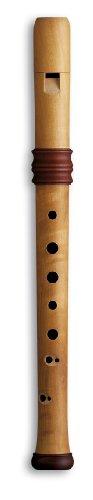 Mollenhauer Blockflöte Sopran Blockflöte Barock 4119 Adris Traumflöte, Holz, natur, Doppellöcher