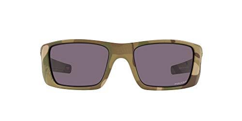 Oakley Men's OO9096 Fuel Cell Rectangular Sunglasses, Multicam/Prizm Grey, 60mm