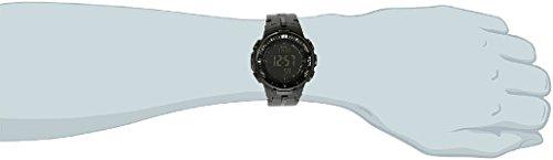 『[カシオ]CASIO 腕時計 PROTREK プロトレック PRW-3000-1A オールブラック メンズ [逆輸入モデル]』の1枚目の画像