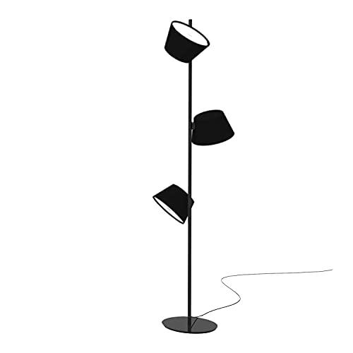 Accesorio para lámpara con Estructura en Metal Lacado, Modelo Tam Tam Satel Mini P, Color Negro, 24 x 24 x 160 centímetros (Referencia: A633-021)