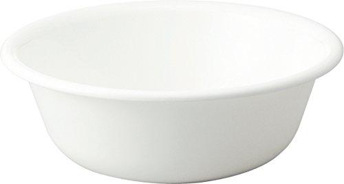 リス 洗面器 『防カビ加工』 H&H 湯桶 ホワイト