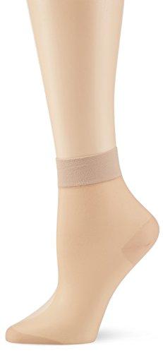 KUNERT Damen Matt Fein Socken Glatt und Softig 20 Gr. 39/42 (Herstellergröße: 39/42) Beige (TEINT 3520)