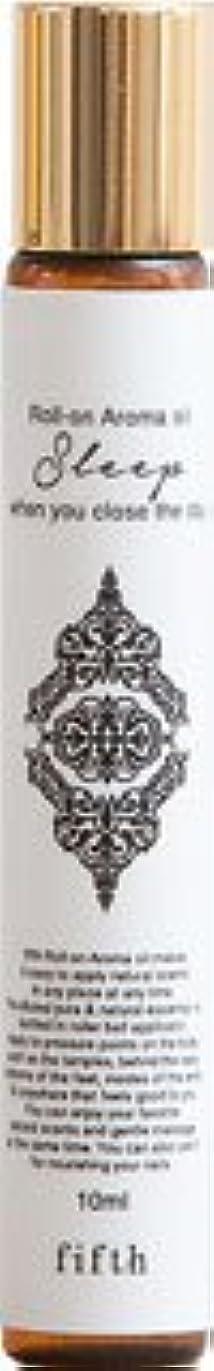 ビリー油メニューフィフス ロールオン アロマオイル スリープ 【ラベンダー】 無添加 保存料一切なし