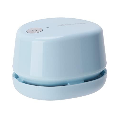 Fesjoy Aspiradora de sobremesa Mini, Mini Aspirador de Escritorio Portátil Inalámbrico Barredora de Polvo de Mesa Ahorro de Energía para Limpiar Polvo Migajas Pelos Restos para Teclado Hogar Oficina