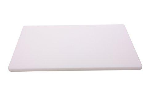 TAMLED Schneidbrett weiß 60 x 40 x 2 cm