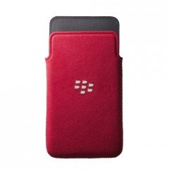 ACC-49282-202 Original BlackBerry Z10 in microfibra borsa/custodia - rosso