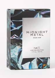 Midnight Metal for him cologne By Rue21 1.7fl.oz/50ml