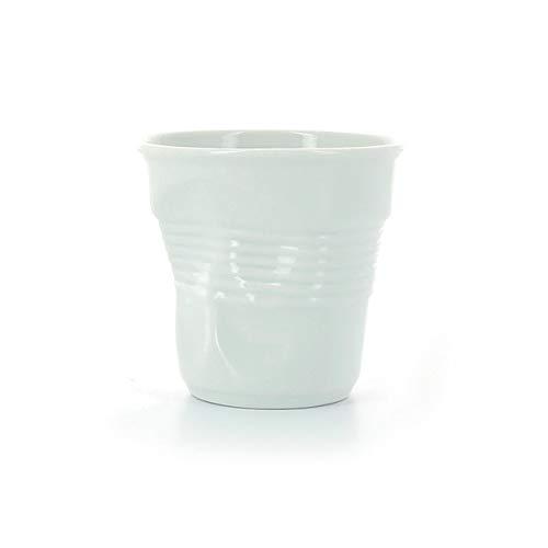 Revol - Tasse espresso unie en porcelaine Couleur - Blanc, Tailles - H. 6 x Ø 6,5 cm - 8 cl